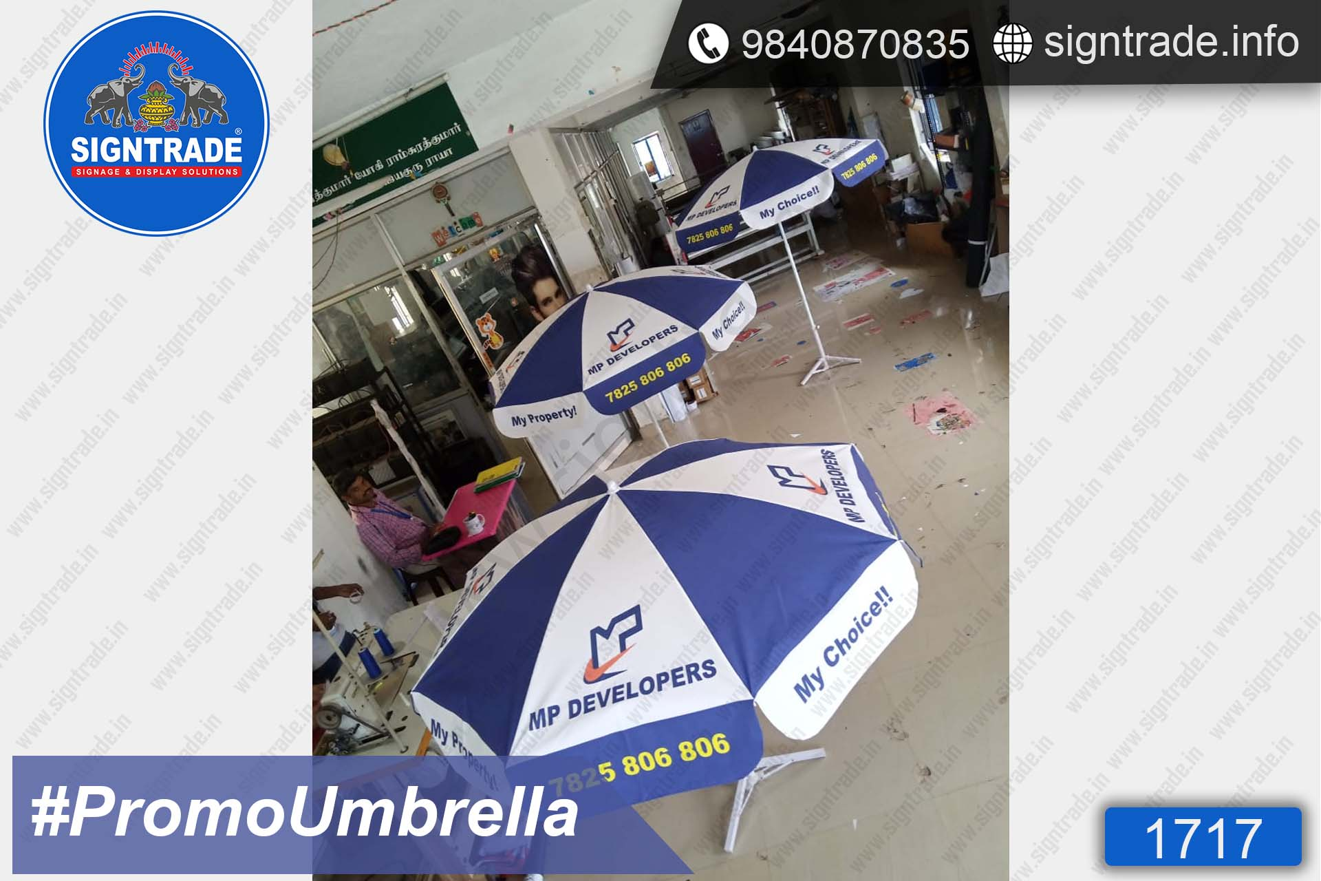 MP Developers, Chennai - SIGNTRADE - Promotional Umbrella Manufactures in Chennai